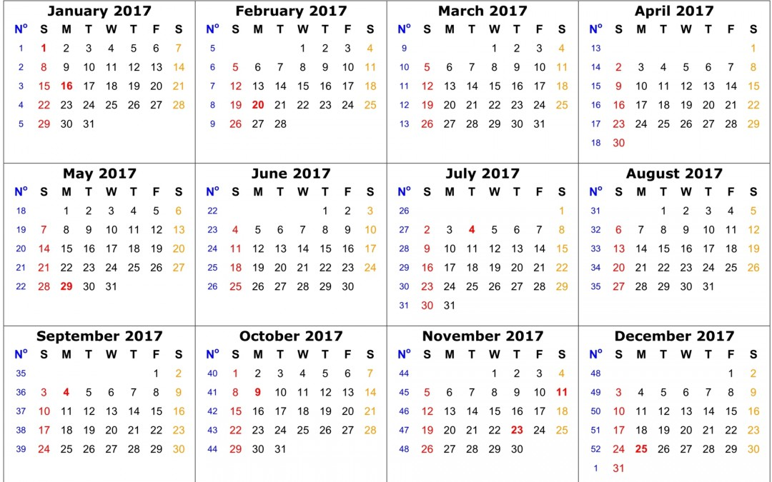 2018 Auction Dates
