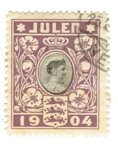 Denmark-1904-Christmas-Seal-JULEN