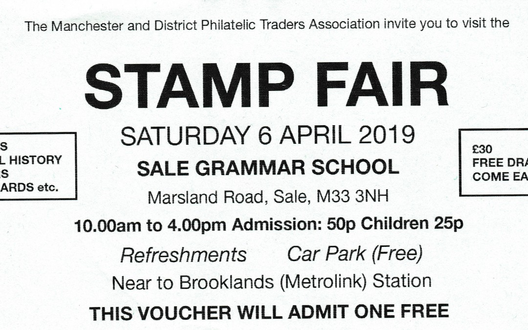 Manchester & District Philatelic Traders Association Show