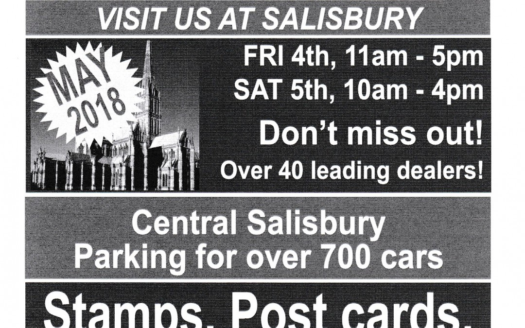 Salisbury Collectors Show – Stand A41